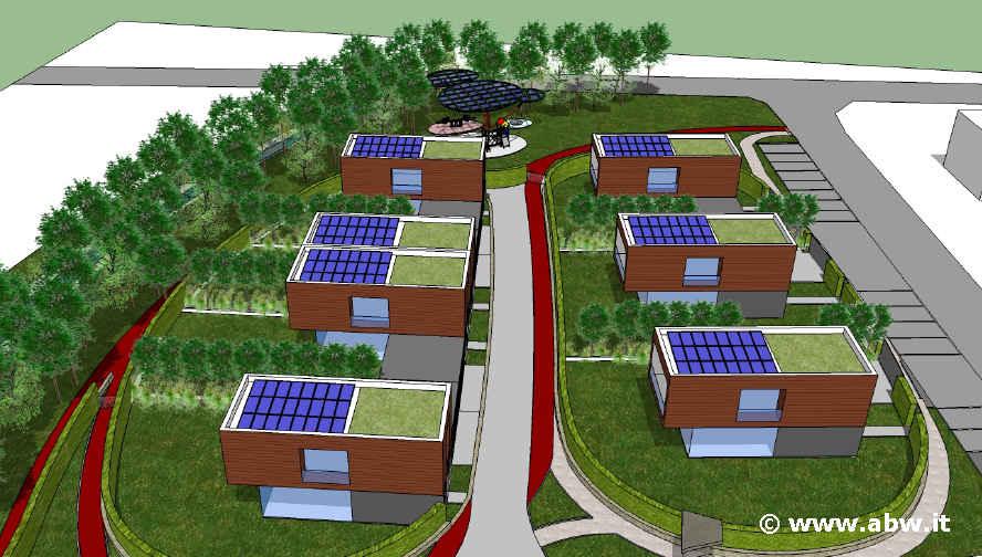 Progetti case ecologiche finest lintervento immobilare for Progetti case ecologiche