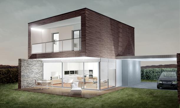 Case a risparmio energetico a Verona: ville di design moderno ad alto risparmio energetico (07.10.2012) shapeimage_7